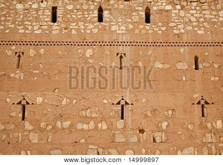 Wall Of Qasr Al Kharanah, Jordan