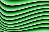 abstract green blurs and lines. Computer generated picture poster