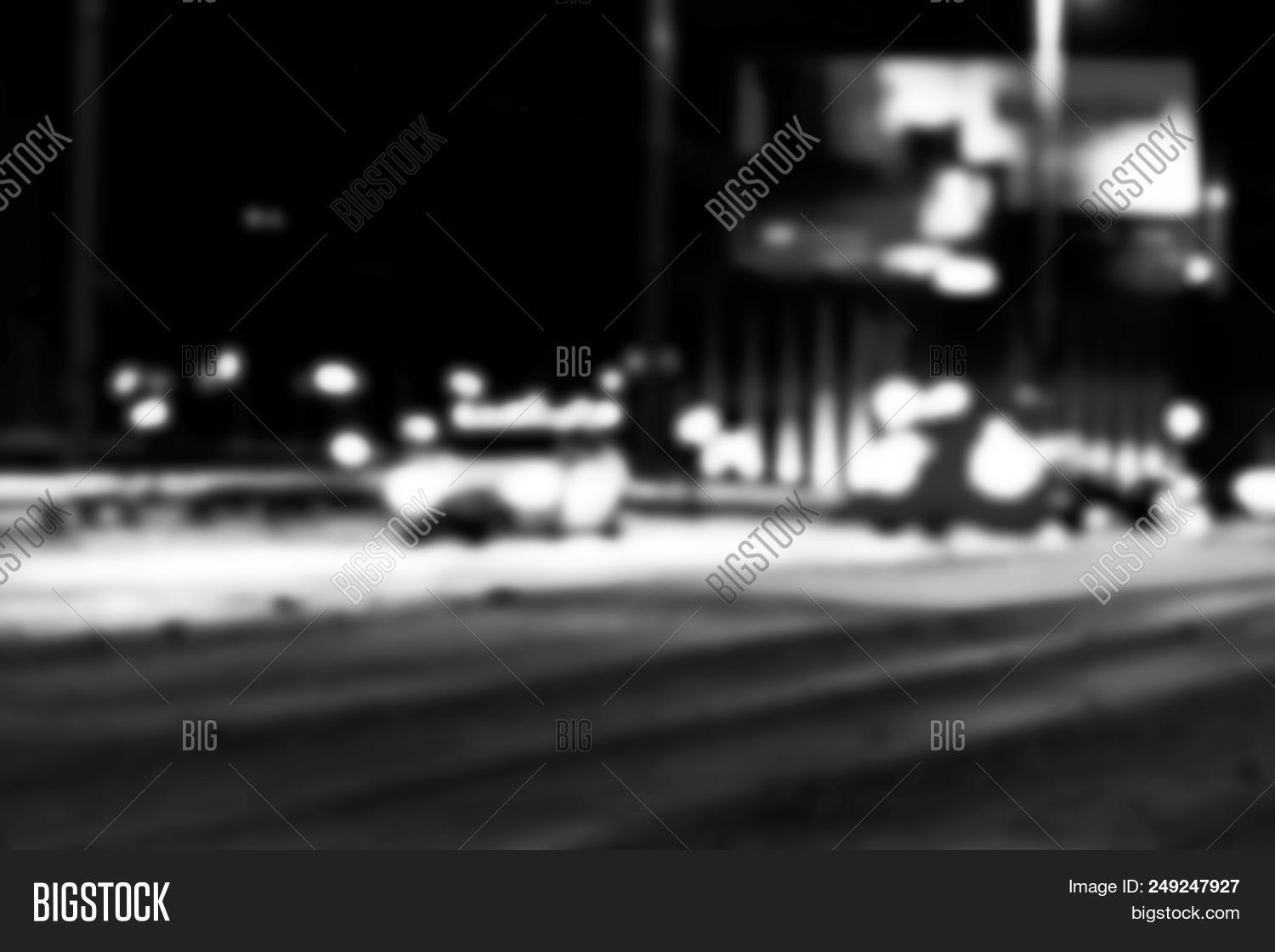 Night City View Blur. Image & Photo (Free Trial) | Bigstock