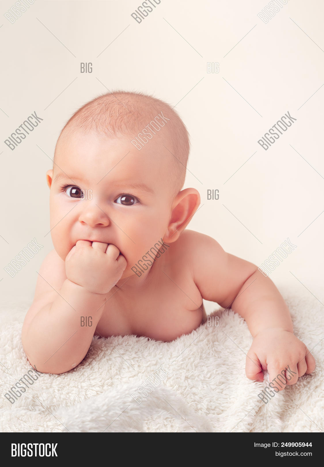 small cute funny baby image & photo (free trial) | bigstock