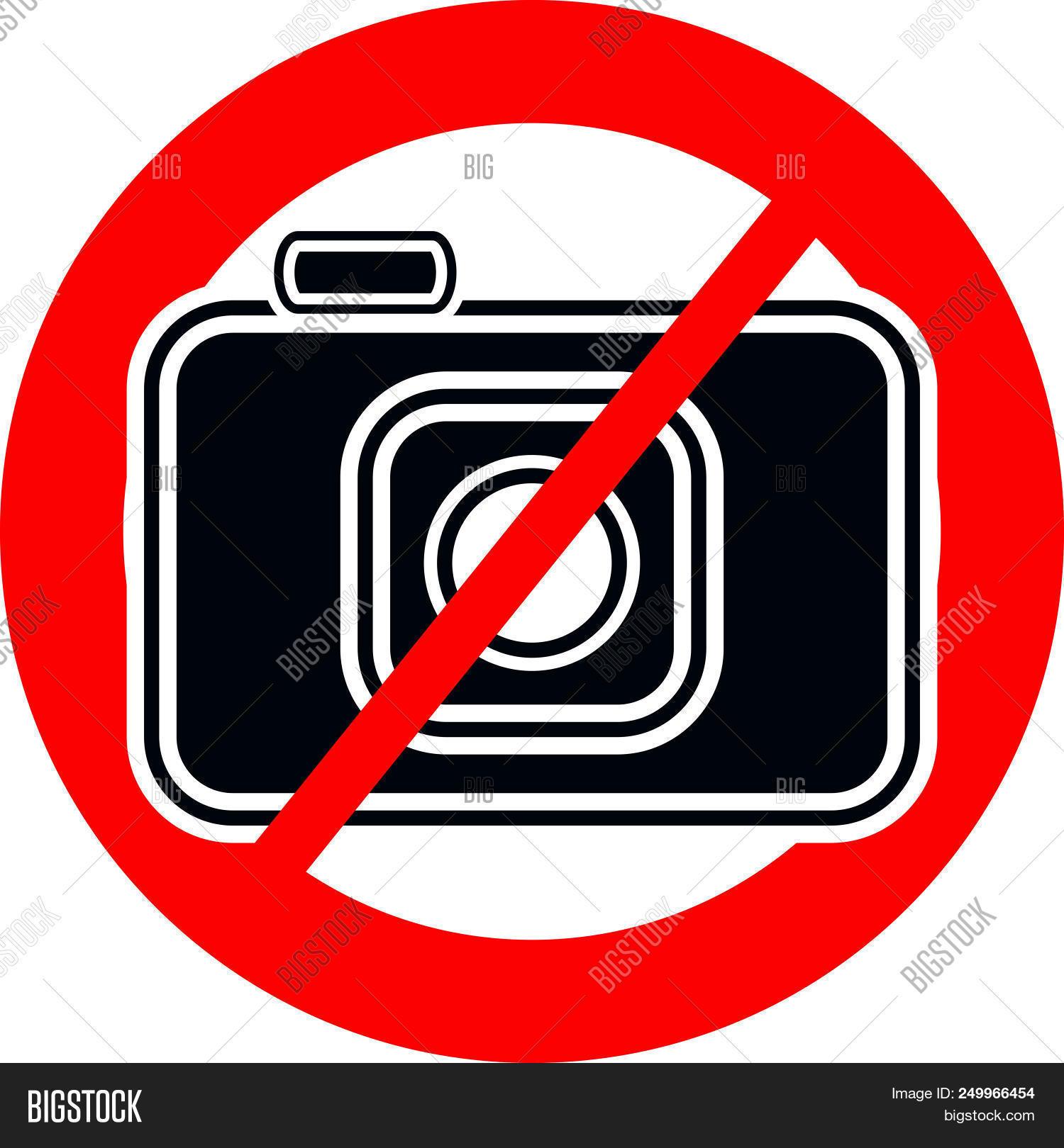 No Camera Icon Ban Vector Photo Free Trial Bigstock