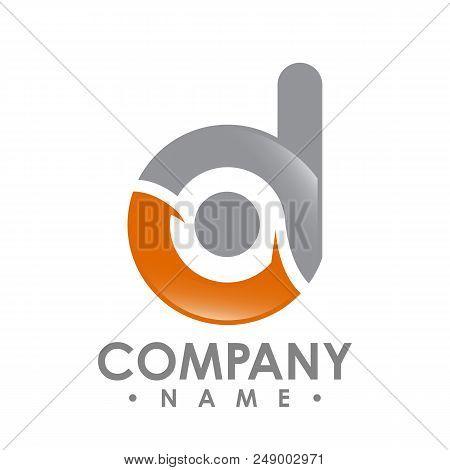 Business Corporate Letter D Logo Design Vector. Colorful Letter D Logo Vector Template. Letter D Log