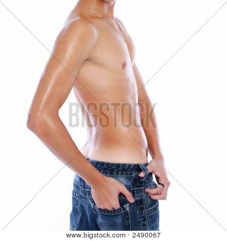 Turning Male Body
