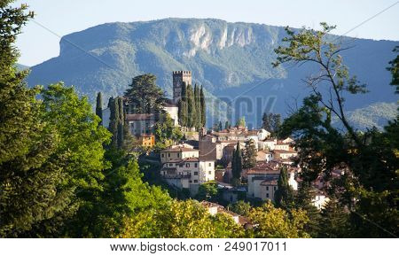 View of Barga, one of the
