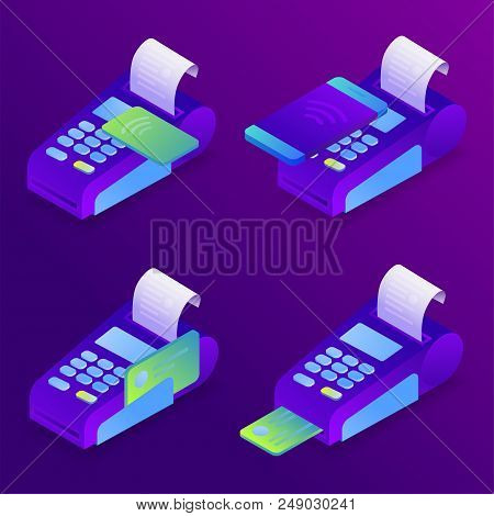 Pos Terminal Payment Methods, Online Payment. Confirms The Payment By Credit Card, Mobile Phone. Iso