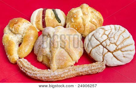 Mexican Sweet Bread Assortment