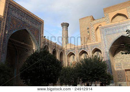Courtyard Of Madrasa Of Ulugh Beg