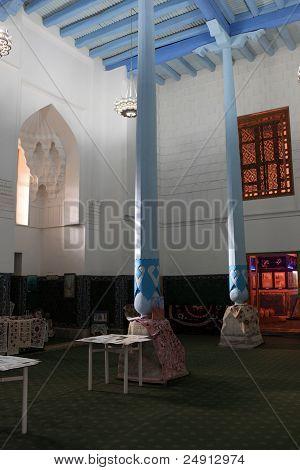 Interior Mosque In Madrasa Of Ulugh Beg