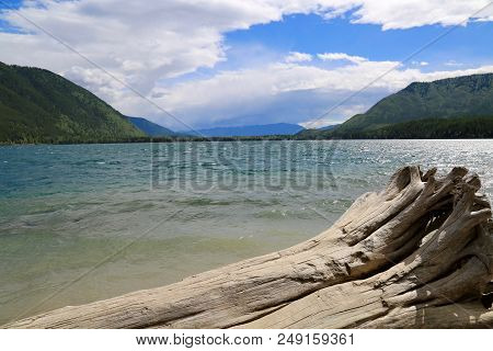 Lake Mcdonald In Glacier National Park In Mt