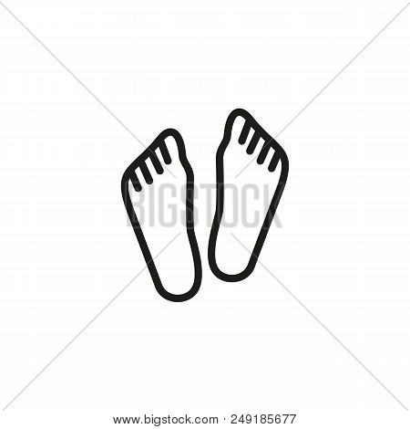 Human Feet Line Icon Vector & Photo (Free Trial)   Bigstock