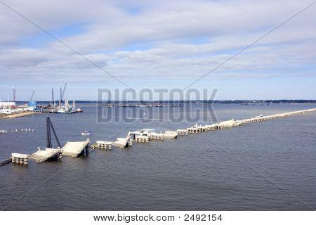 Old Biloxi To Ocean Springs Bridge