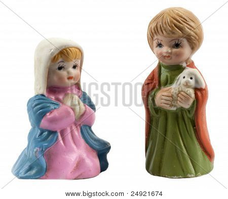 Mary and the shepherd