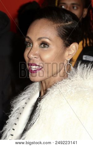PARK CITY, UT - JAN 21: Actress Jada Pinkett Smith attends the premiere of