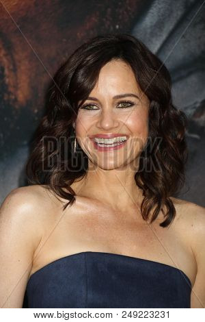 NEW YORK - JUN 10: Actress Carla Gugino attends the premiere of