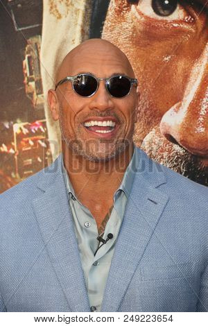 NEW YORK - JUN 10: Actor Dwayne Johnson attends the premiere of