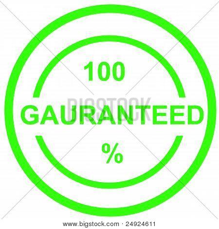 gauranteed 100%