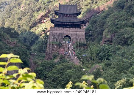 Jianmenguan Scenic Area Is A 5a Scenic Spot In China