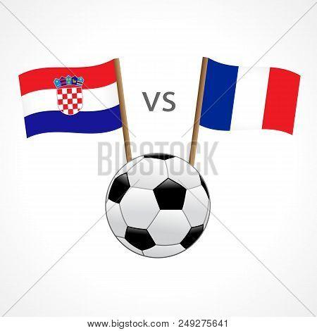 France Vs Croatia Vector   Photo (Free Trial)  483da9f61