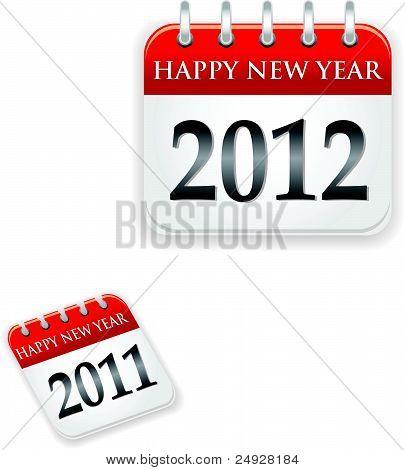 Calendar 2011 and 2012 year