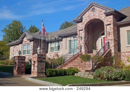 Brick House In The Suburbs
