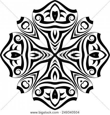 Tribal Tattoo Design Raster Art