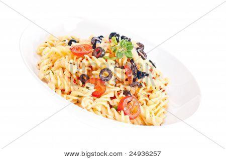 Vegetarian Pasta Aglio Olio