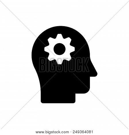 Intelligence Vector Icon Flat Style Illustration For Web, Mobile, Logo, Application And Graphic Desi