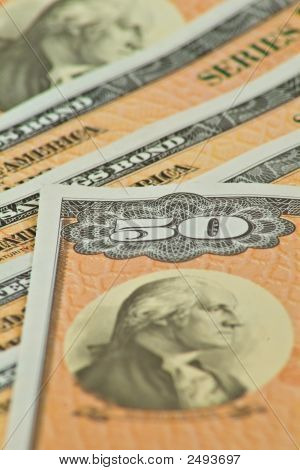 $50.00 U.S. Savings Bonds