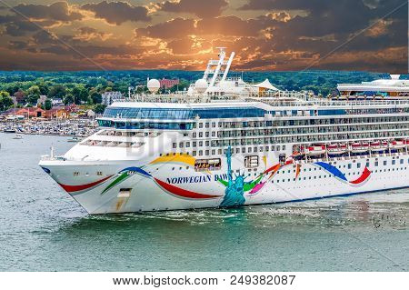 Miami, Florida - September 14, 2014: Cruising Is One Of The Fastest Growing Segments In The Travel I