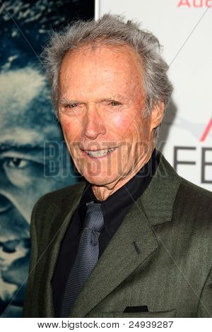 """LOS ANGELES - NOV 3:  Clint Eastwood arrives at the AFI FEST 2011 Presented By Audi - """"J. Edgar"""" Opening Night Gala at Grauman's Chinese Theater on November 3, 2011 in Los Angeles, CA"""