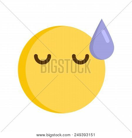 Emoticon Disappointed Vector Photo Free Trial Bigstock