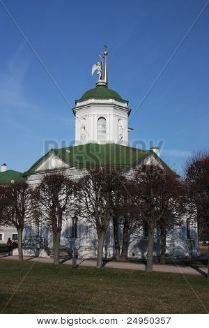 Russia, Moscow. Kuskovo estate of the 18th century. The church. t-shirt