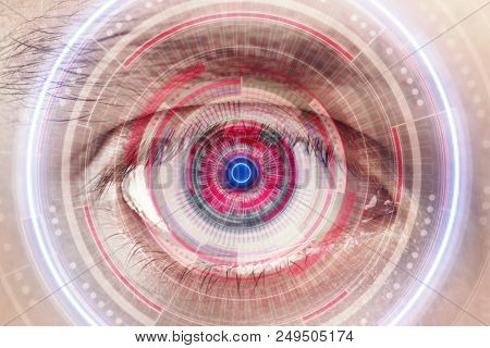 Human Being Futuristic Vision, Vision And Control And Protection Of Persons, Control And Security In