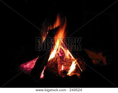 Roaring Campfire