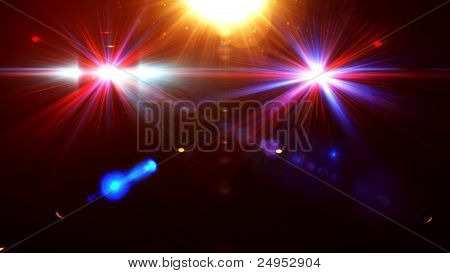 Abstract image of disco lighting