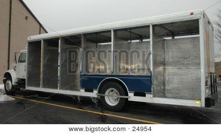 Empty Beer Truck