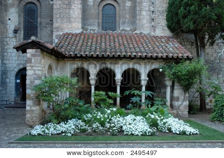 Church - Garden -Cloister (Albi, France)