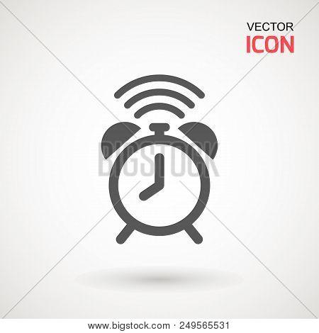 Alarm Clock Icon Vector Photo Free Trial Bigstock