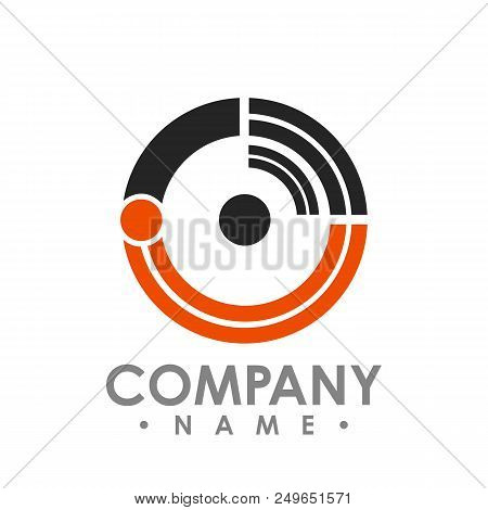 Circle Wifi Logo Design, Technology Wifi Logo Design