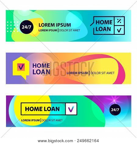 Home Loan Template Vector Photo Free Trial Bigstock