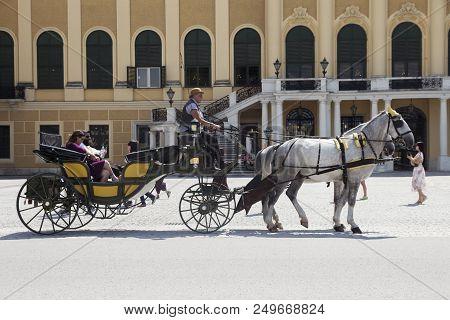 Vienna, Austria - July 06 2018: