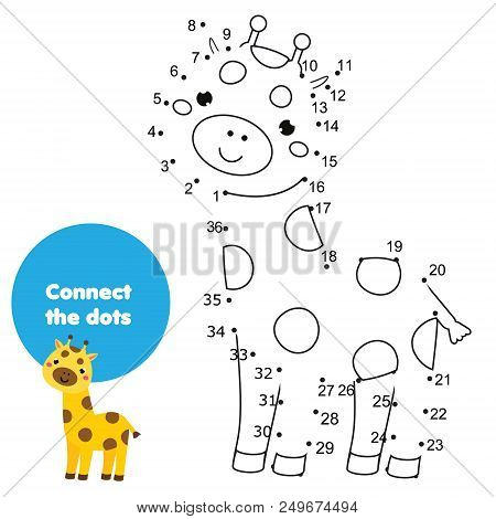 Connect Dots Children Vector & Photo (Free Trial) | Bigstock