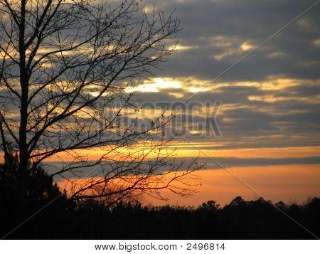 Sunset Of Winter