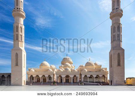 El Mina mosque in Hurghada, Egypt