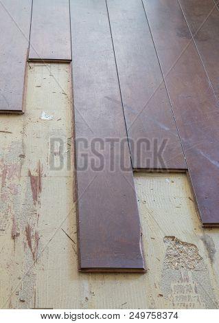 Breaking Up A Solid Wooden Floor