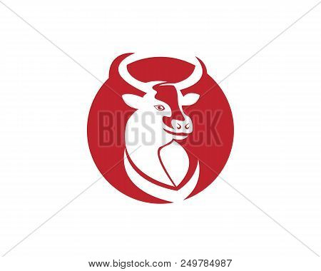 cow head silhouette vector photo free trial bigstock