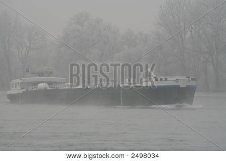 Ship & Fog