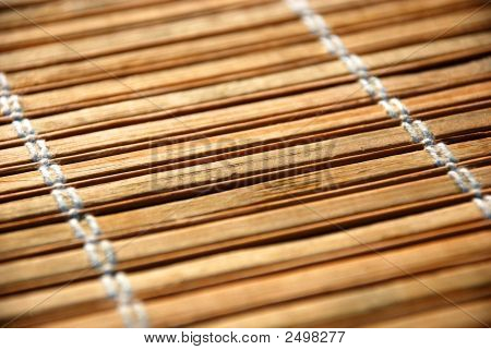 Bamboo Table Cover