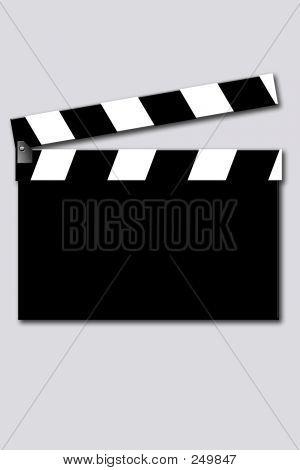 Leere Movie Clapper
