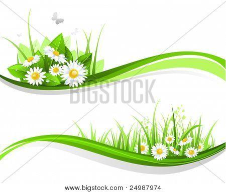 Natural floral design